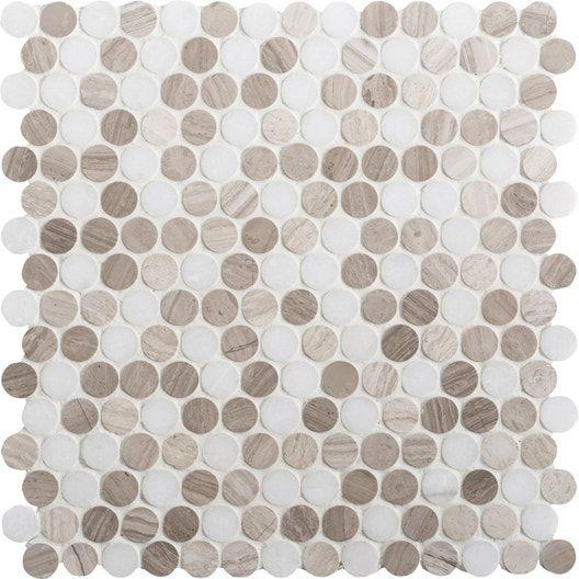 La Mosaique S Incruste Dans Le Parquet Le Resultat Est Original Leroy Merlin En 2020 Marbre Blanc Sol Et Mur Marbre