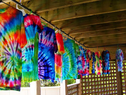 i love tie dying