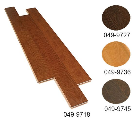 PLANCHER BOIS FRANC HETRE : Plancher de bois franc en hêtre Candien, fini satin. Grade pacifique. Couvre 20 pieds carrés. Echantillon code BMR 053-3580.