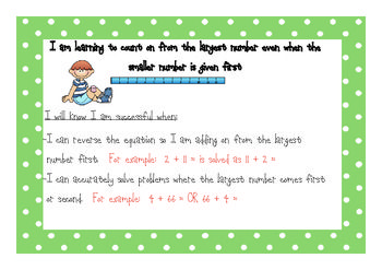 Success Criteria Addition And Subtraction And Teaching