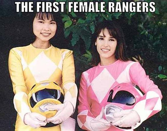 Loved Power Rangers! Trini the Yellow Ranger was my favorite.