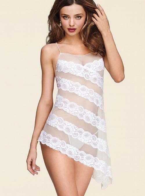 d75ca50d7 Miranda Kerr is a Sexy Bride for the Victoria s Secret Bridal Lingerie  Collection