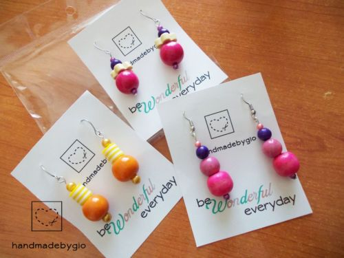 stock-3coppie-orecchini-perle-in-legno-FattiaMano-wooden-earrings-handmadebygio https://www.facebook.com/handmadebygia