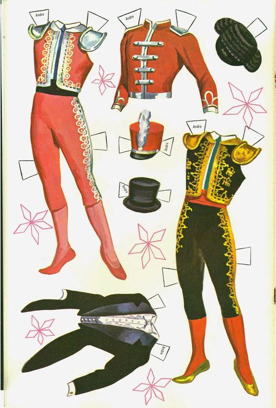 estrelas do Ballet para recortar e vestir os figurinos!