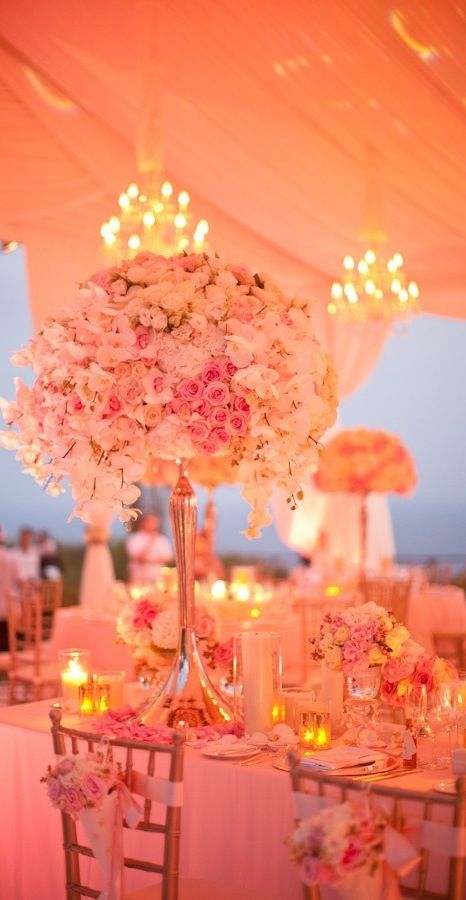 * Orange ~ beautiful table display