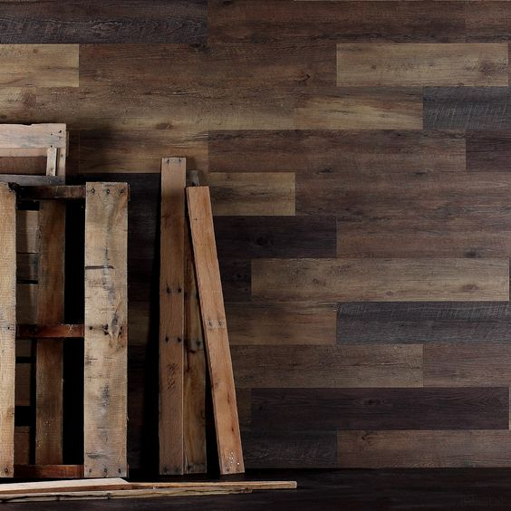Wood Wall Planks: Planks, Pallet Wood Walls And Wood Walls On Pinterest