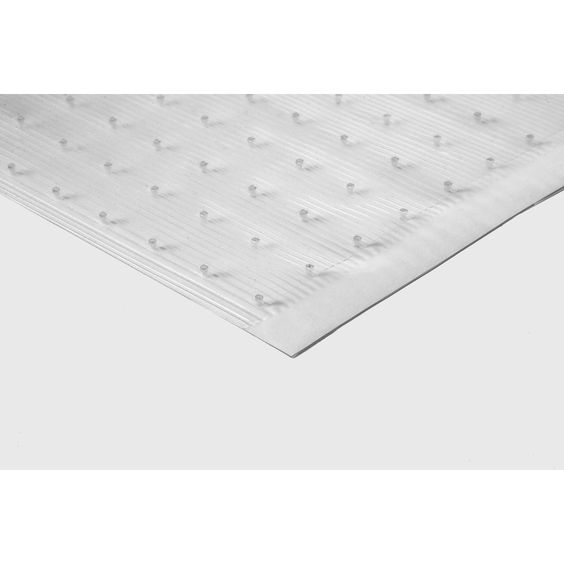 Tenex 27 In X 144 In Clear Loose Lay Pvc Plastic Sheet