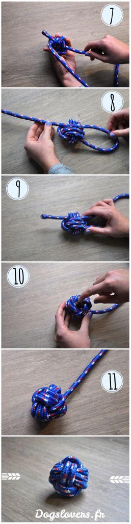 jouet chien pas cher jouet balle à faire soi meme DIY fait maison joujou pour chien Dogs Lovers http://dogslovers.fr/
