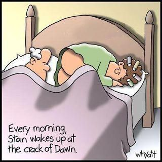 waking up to the crack of dawn - Google Search: