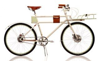 The Faraday Porteur is a handmade electric bicycle for city living.:  All-Terrain Bike, Faraday Bicycle, Mountain Bike, Electric Bike, Faraday Bike, Electric Bicycle, Porteur Electric