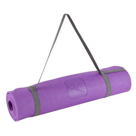 Tapis Yoga Doux 8 Mm Violet Domyos By Decathlon Tapis Yoga Yoga Doux Yoga
