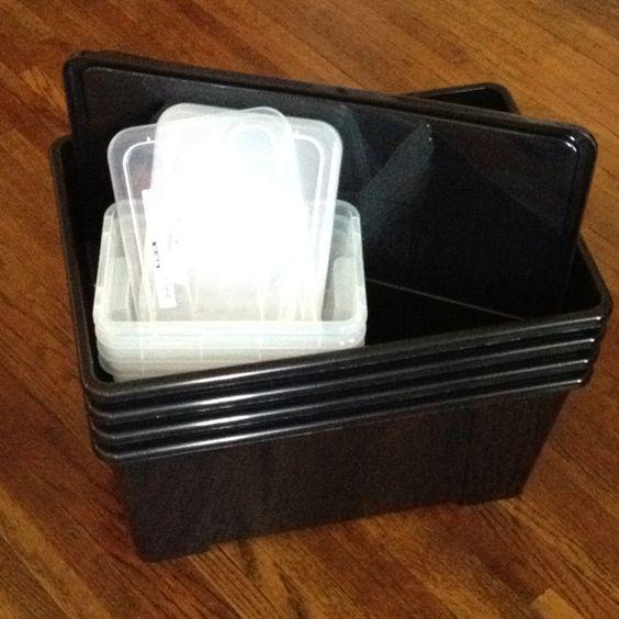 Samla storage bins (ikea)