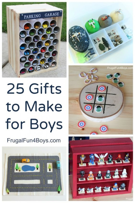 how to make something for boys homemade