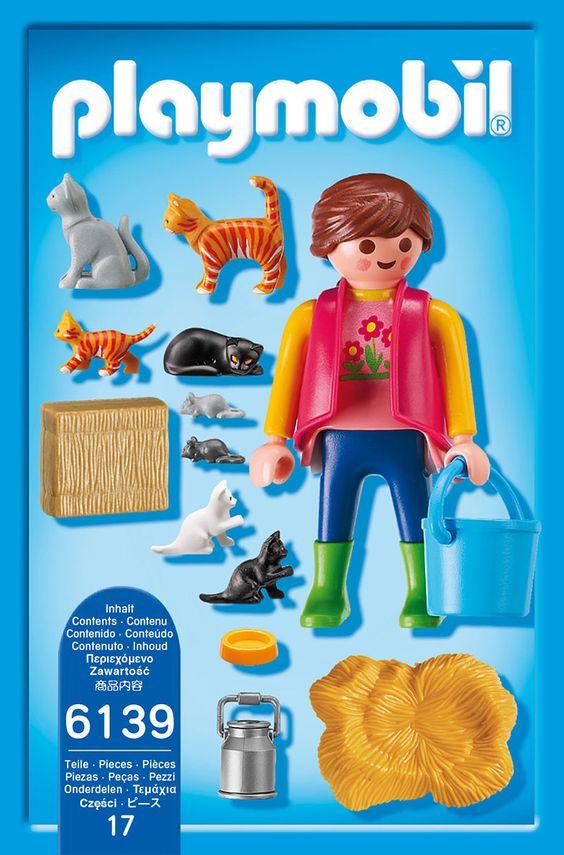 Details zu PLAYMOBIL 6139 - Bunte Katzenfamilie Bunt und Spielzeug - playmobil badezimmer 4285