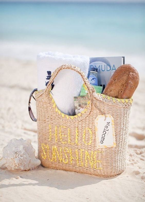 Pinterest o the worlds catalog of ideas for Destination wedding gift bags