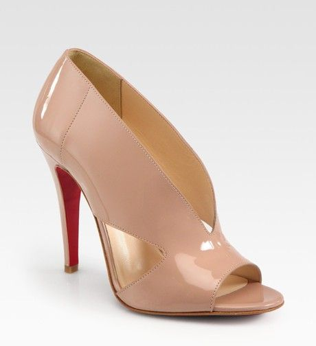 Christian Louboutin Creve Couer Patent Leather Sandals