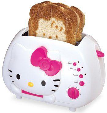<3: Kitty Stuff, Wide Slot, Hellokitty, Kitty Toaster, I Love, Slot Toaster, Hello Kitty, Hk Toaster