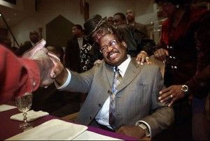 The Late Presiding Bishop Gilbert Earl(G.E) Patterson of the Church of God in Christ. Senior Pastor of Temple of Deliverance COGIC in Memphis Tn.