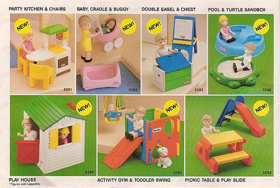 Dollhouse Exhibition And Toy: Dollhouse Accessories, Toys And Little Tikes On Pinterest