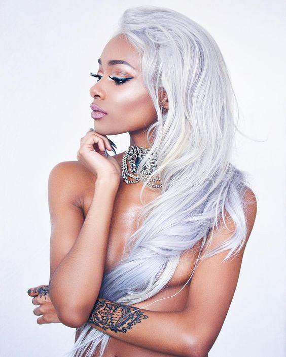 """""""Custom toned hair by @bombayhair """""""