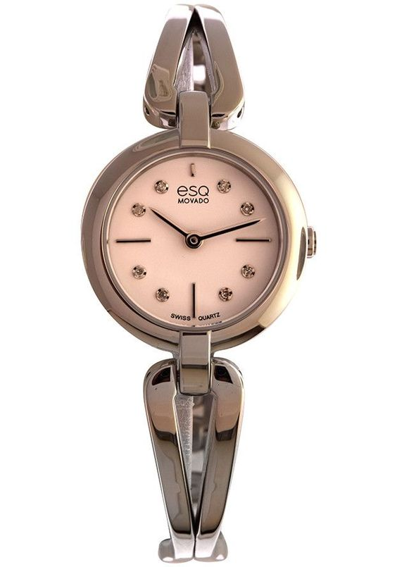 ESQ MOVADO WOMEN'S STAINLESS STEEL WATCH 07101442