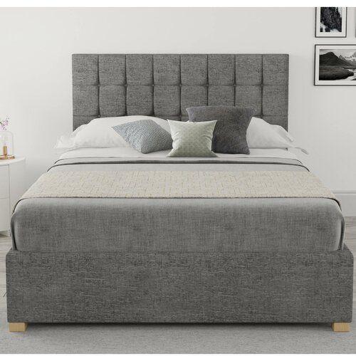 Mouzon Upholstered Ottoman Bed Brayden Studio Size Super King 6