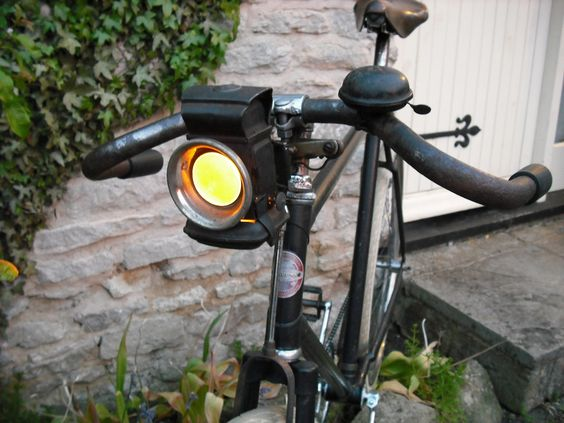 Vintage Currys Path Racer With Oil Lamp Oil Lamps Custom Headlights Lamp