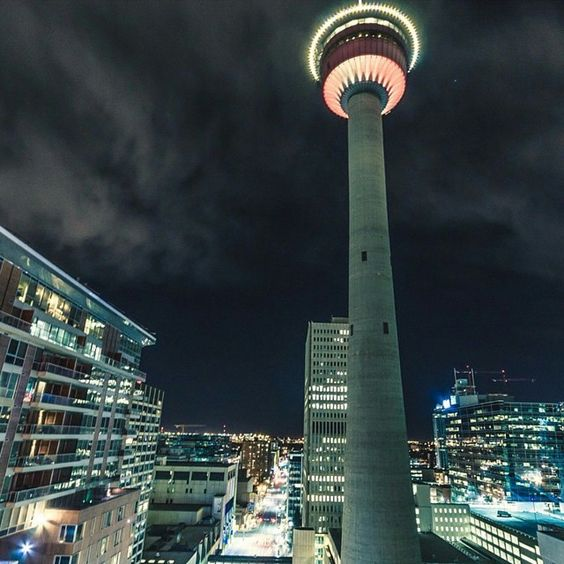 Calgary Tower #YYCNow Photo: Craig