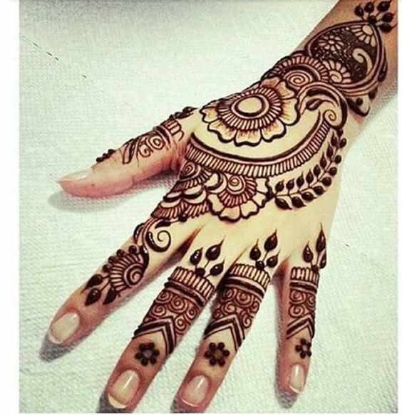 Mehndi Flower Dailymotion : Latest arabic mehndi designs for hands heena
