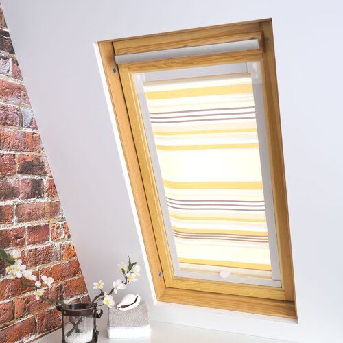 Symple Stuff Stripes Blackout Roof Roller Blind Window Roller Blinds Roller Blinds Waterproof Roller Blinds