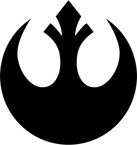 Star Wars Rebel Alliance Symbol - perfect shape for a cake ...