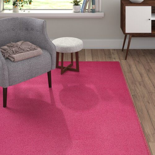 Fancy Pink Rug Hanse Home Size