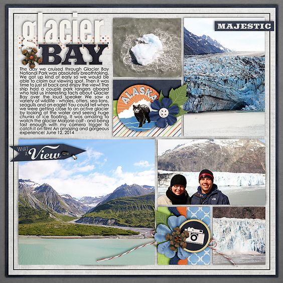 White House Blocks Release Of Mcgahn Documents To Congress: #papercraft #scrapbook #layout Glacier Bay