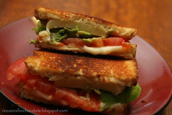 Fancy Grilled Cheese Sandwich