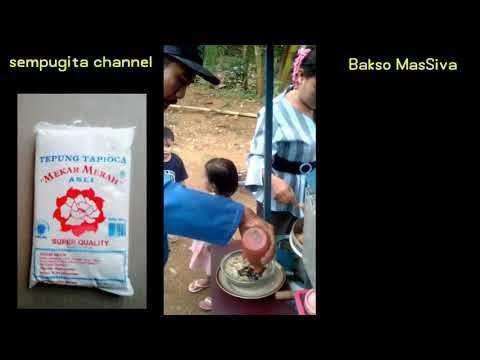 Penjelasan Bakso Massiva Tentang Tepung Kanji Youtube Bakso Tepung