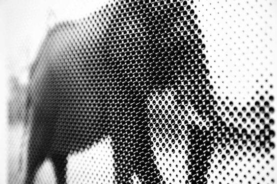 Halftone images CNC