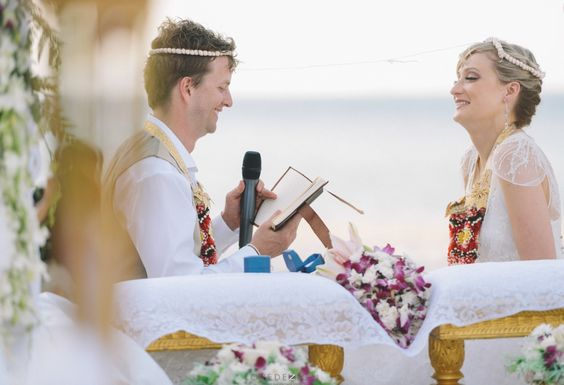wedding photography at Bamboo island, Krabi