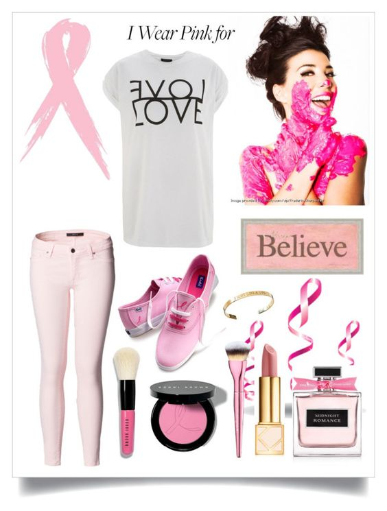 """""""Untitled #594"""" by soha20 ❤ liked on Polyvore featuring IWearPinkFor"""