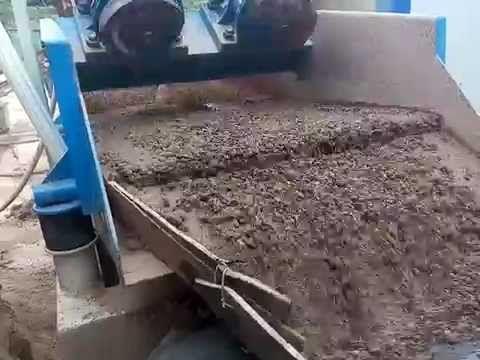 LZZG single spray dewatering type sand recycling system--LZ10-30