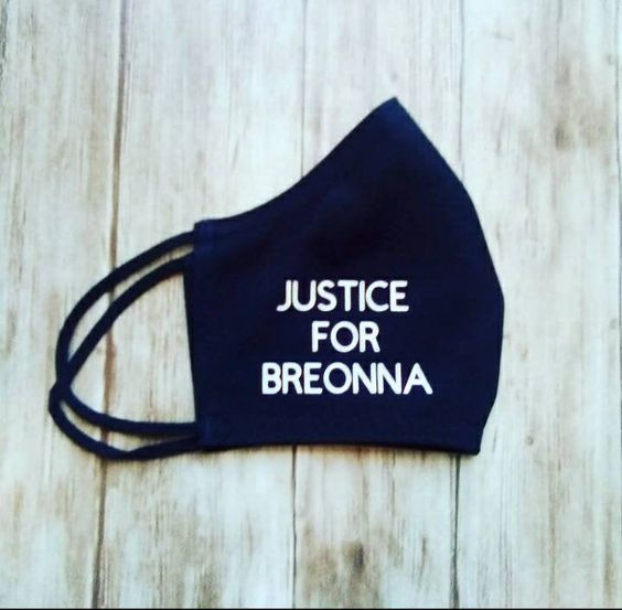 Excited To Share This Item From My Etsy Shop Breonna Taylor Justice Mask Arrest The Cops That Killed Breonna Taylor Say Her Name Heat Transfer Vinyl Justice