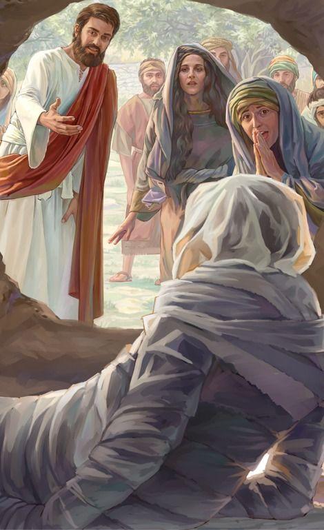Gesù risuscita Lazzaro