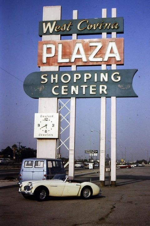 West Covina Plaza Shopping Center, 1964. Picture By Sue Peregoy | West  Covina, California | Pinterest | West Covina