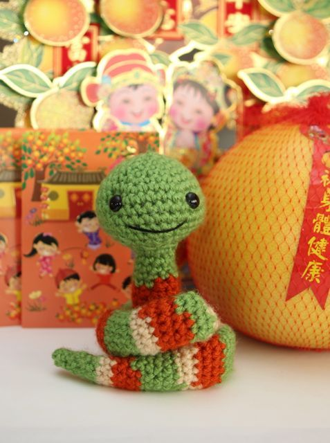 Free Amigurumi Snake Pattern : Book worms, Happy and A snake on Pinterest