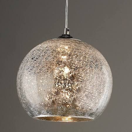 Crackle Glass Replacement Globes For Light Fixtures