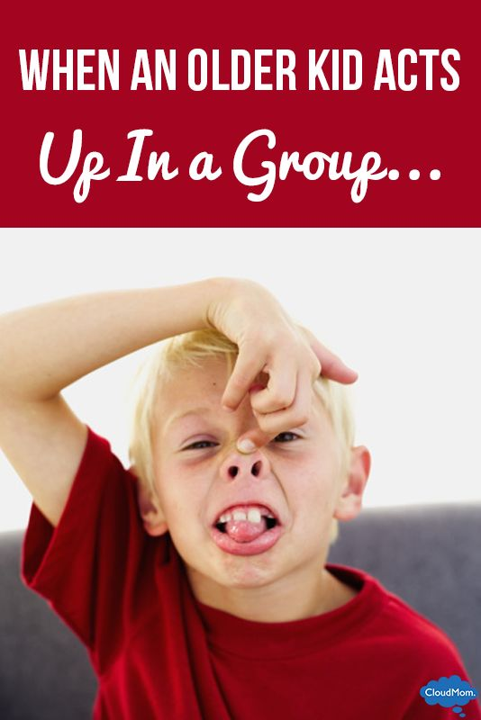 What To Do When Your Kid Misbehaves In A Group?