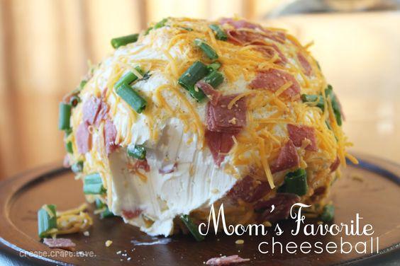 Create.Craft.Love.: Mom's Favorite Cheeseball: Cheeseball Recipe, Cheeseballs Recipes, Favorite Cheeseball, Dips Drinks Snacks, Dips And Cheeseballs, Easy Cheeseball, Cheeseball Create, Appetizers Dips, Cheese Ball