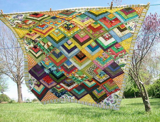 Scrapbusters Bento Box block picnic tablecloth by craktpot, via Flickr