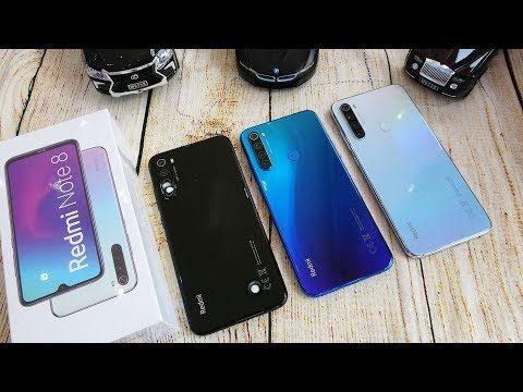 Xiaomi Redmi Note 8 Colors Unboxing Camera Fingerprint Face Unlock Tested Youtube Glass Screen Protector Iphone Xiaomi Smartphone