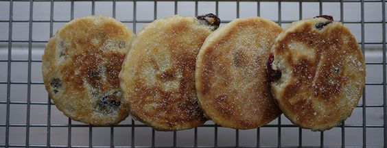 Christmas Welsh Cakes by Kate Morgan