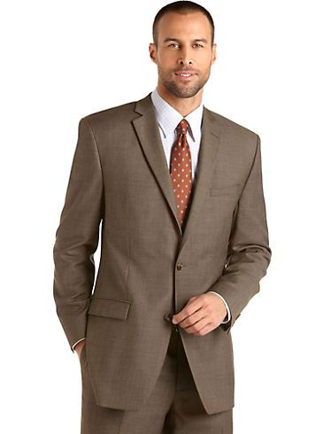 Brown Sharkskin Suit Dress Yy